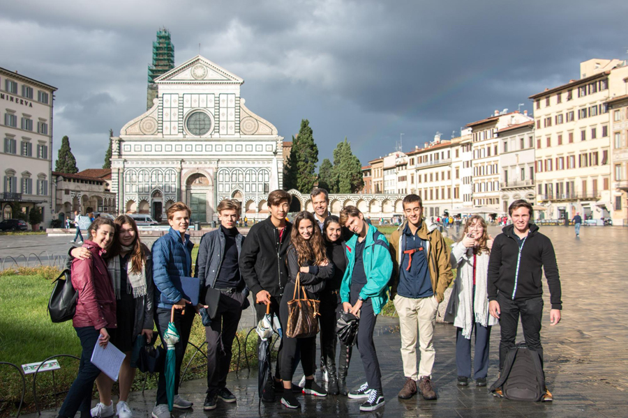TASIS School trip to Florence