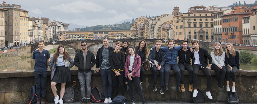 TASIS students in Florence