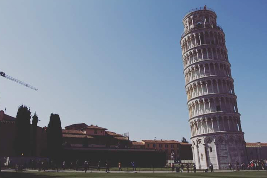 Up Close and Personal: The Leaning Tower of Pisa