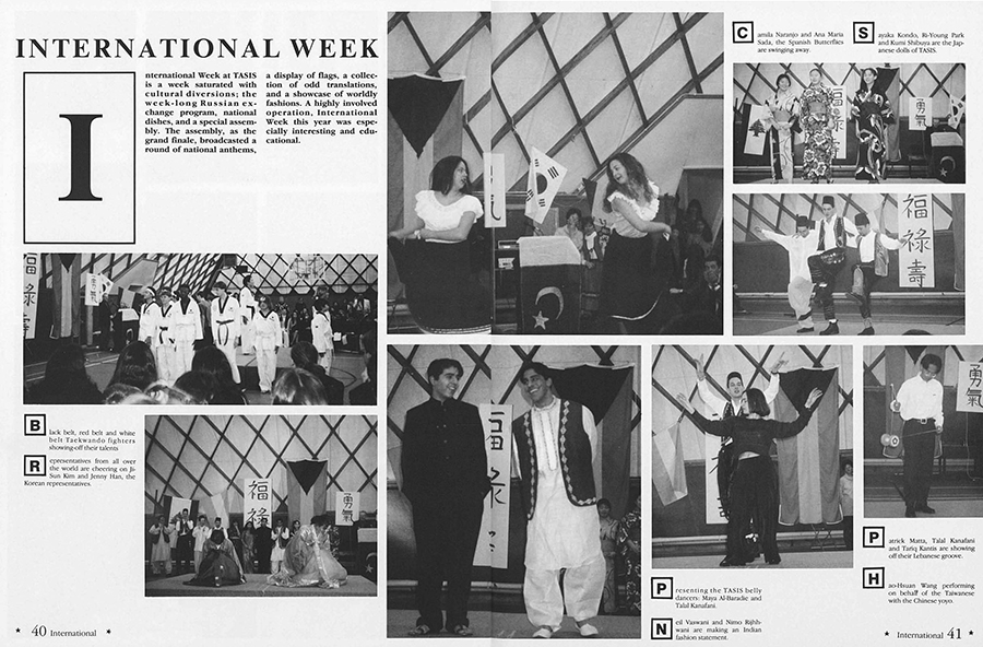 International Week 1995