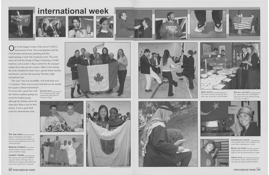International Week 2003